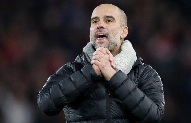 Pep congratulates Liverpool on winning the Premier League