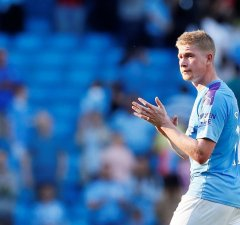 De Bruyne is the best midfielder in the world - Guardiola