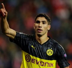 OFFICIAL: Inter Milan Complete Achraf Hakimi Transfer On A Five-Year Contract