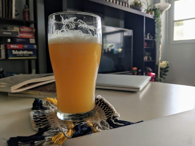 homebrewed pale ale NEIPA