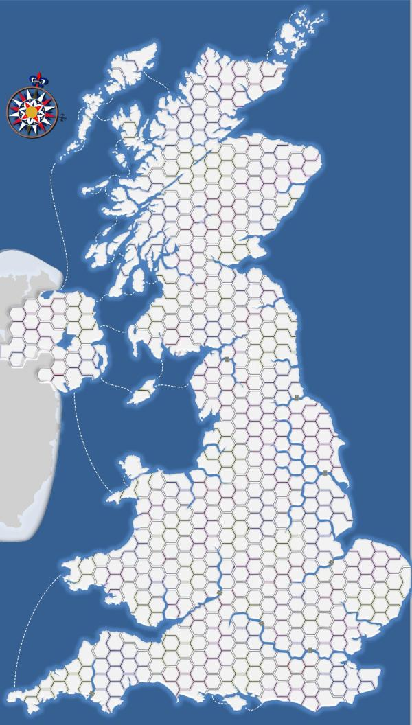 Extreme Great Britain Map