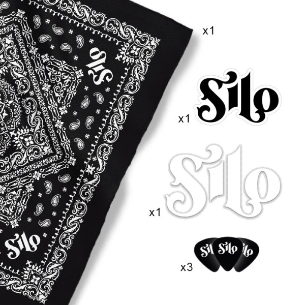 Silo Country Metal Band Merch Fan Pack