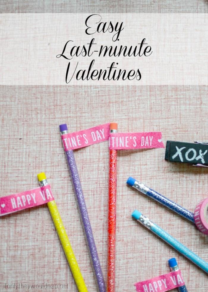Easy Last-minute Valentines