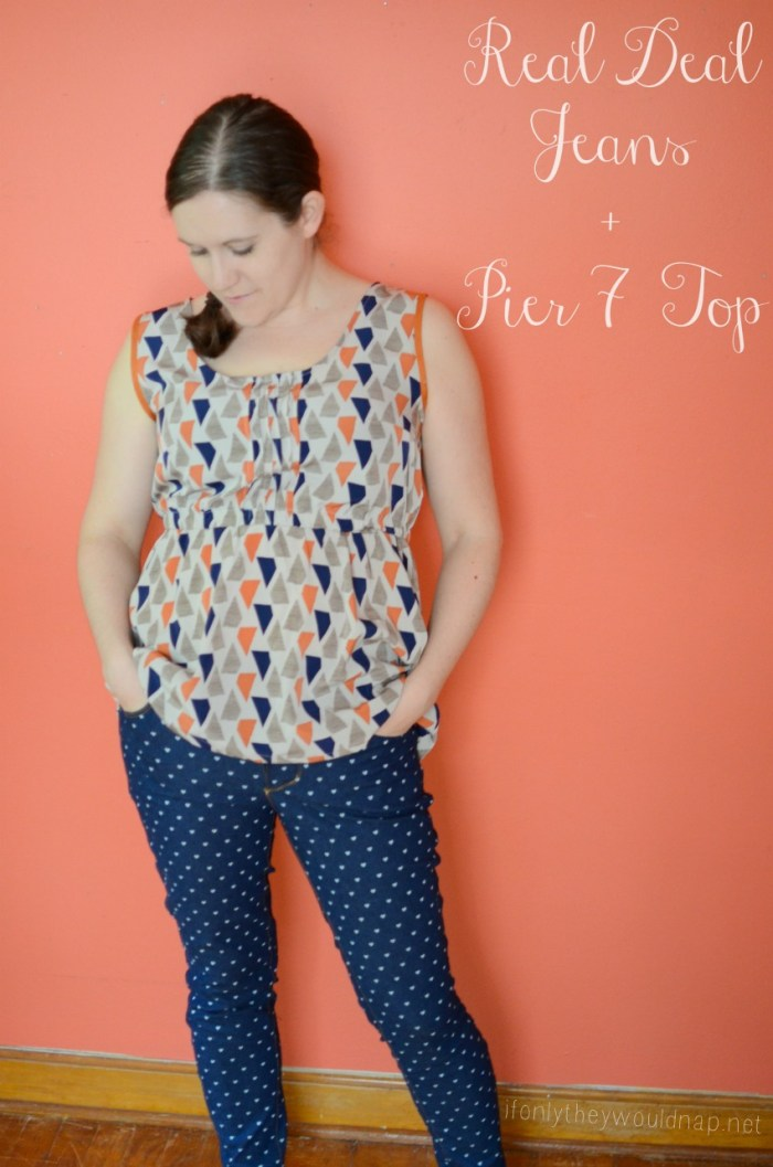 Real Deal Jeans and Pier 7 Top