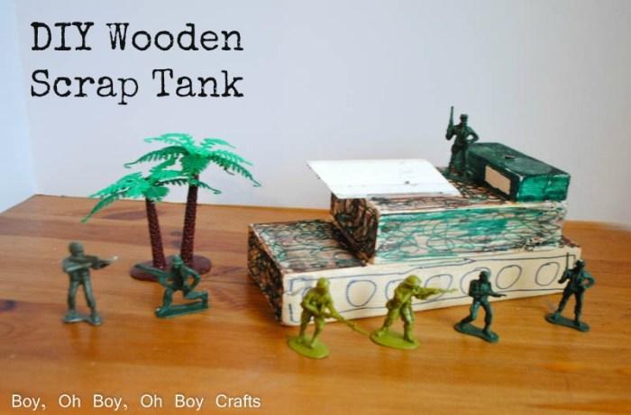 Wooden Scrap Tank Teaser
