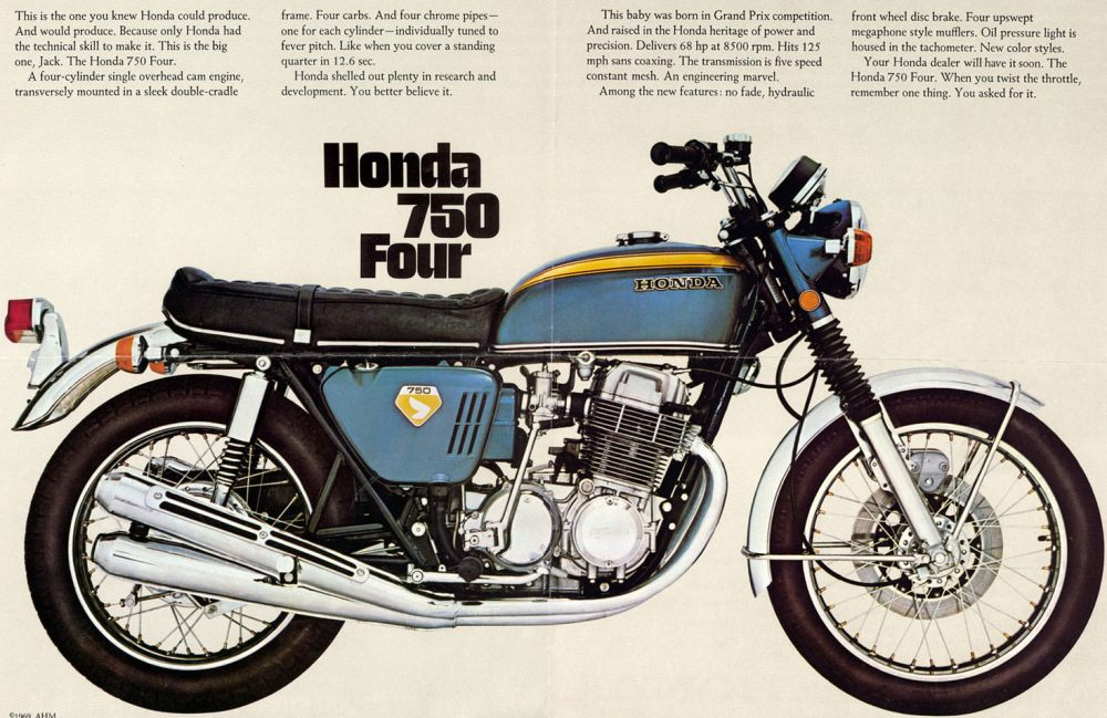 medium resolution of honda cb750 the absolutely essential free buying guide wiring diagram 1971 honda 750 four