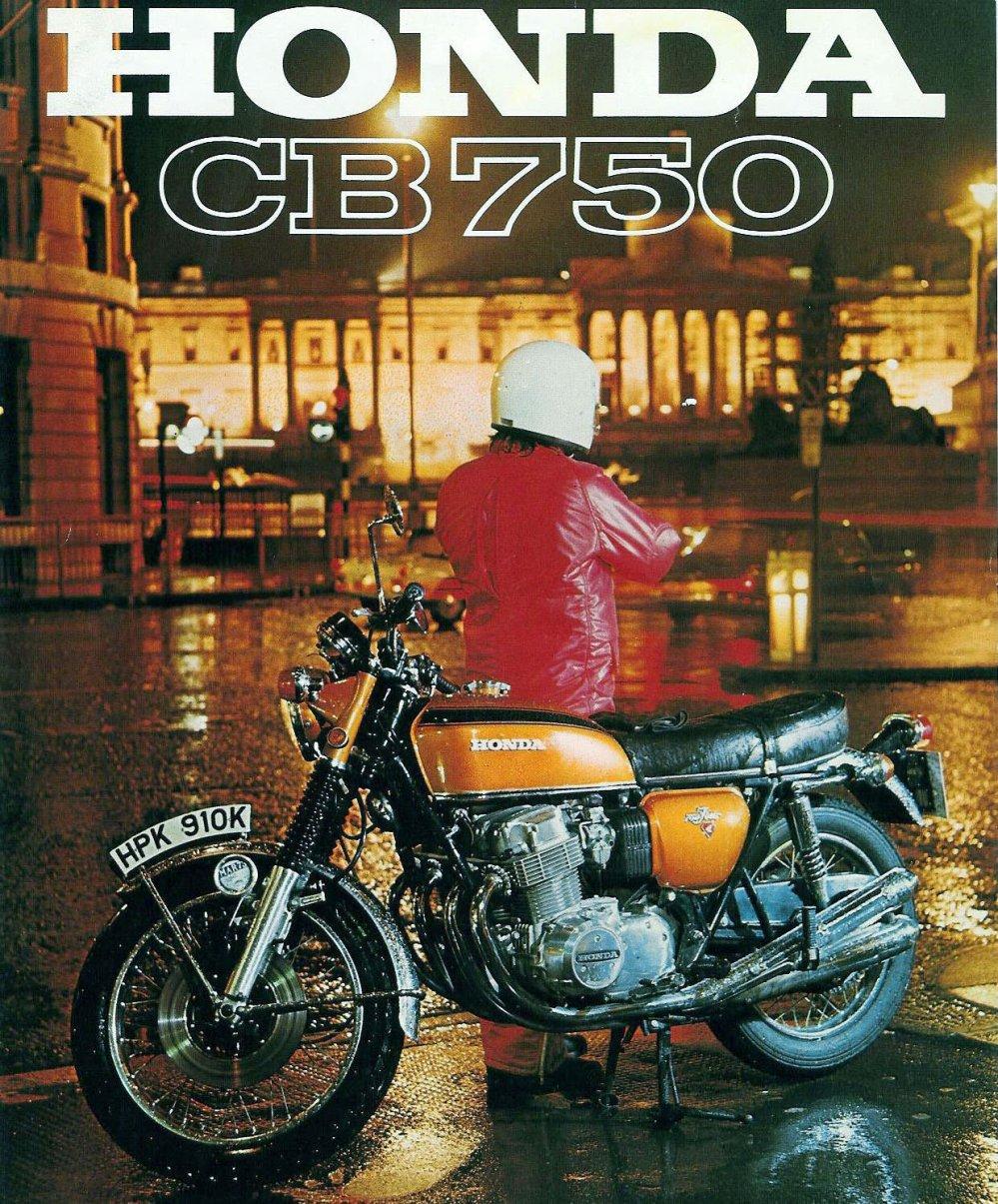 medium resolution of honda cb750 motorcycle