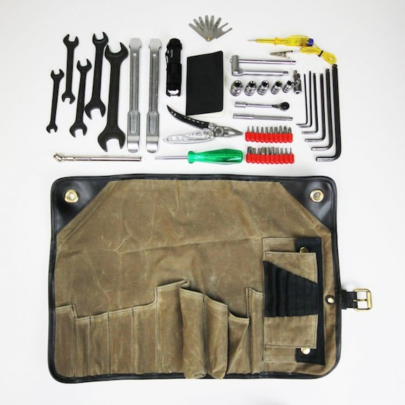 Garage Clothing In Nyc Motorcycle Tool Roll By Union Garage Nyc