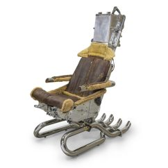 Ejection Seat Office Chair Top View Ejector Man