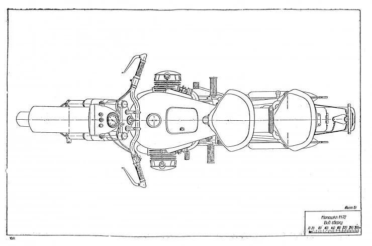 Russian M-72 Blueprints