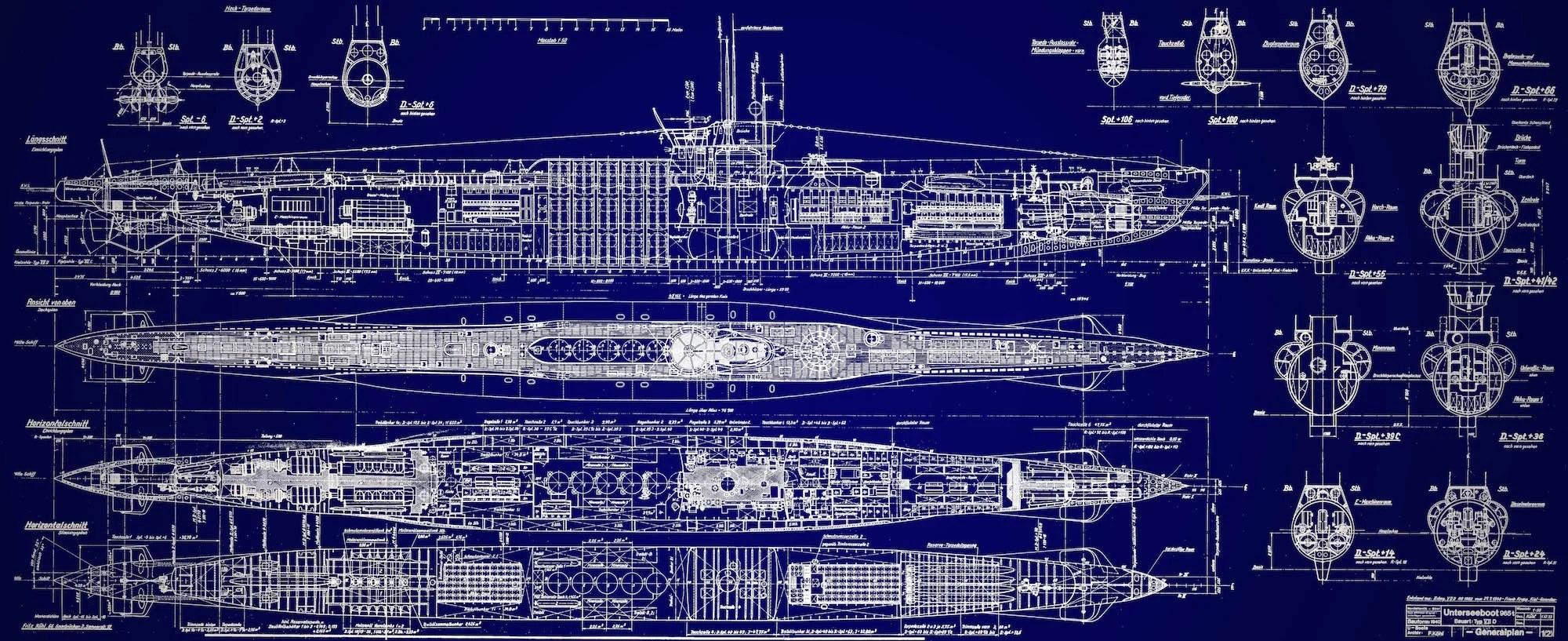 u-boat blueprints