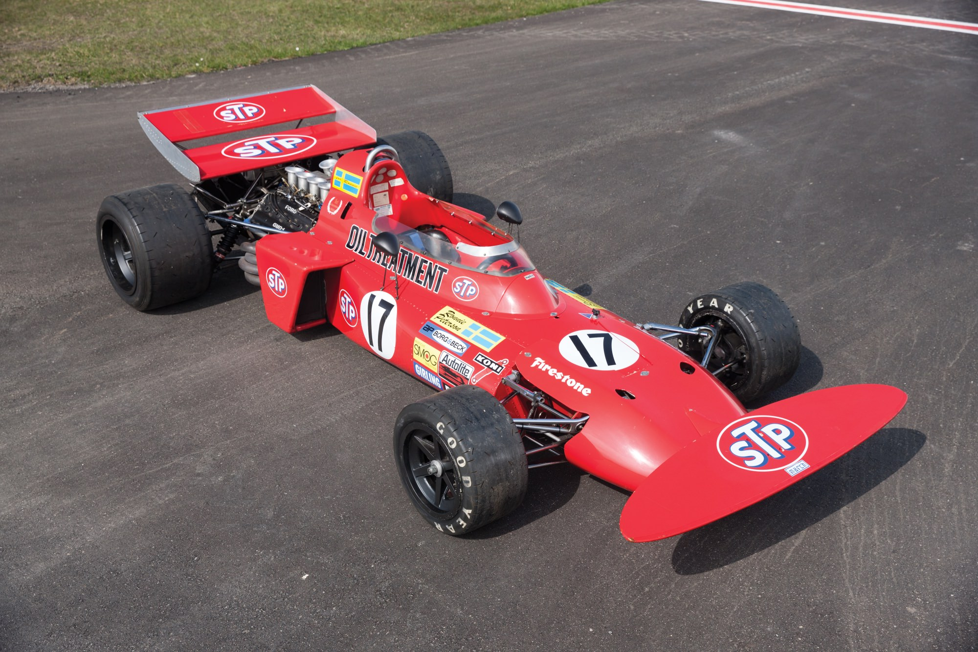 Niki Lauda's March 711 Formula 1 Car  Silodrome