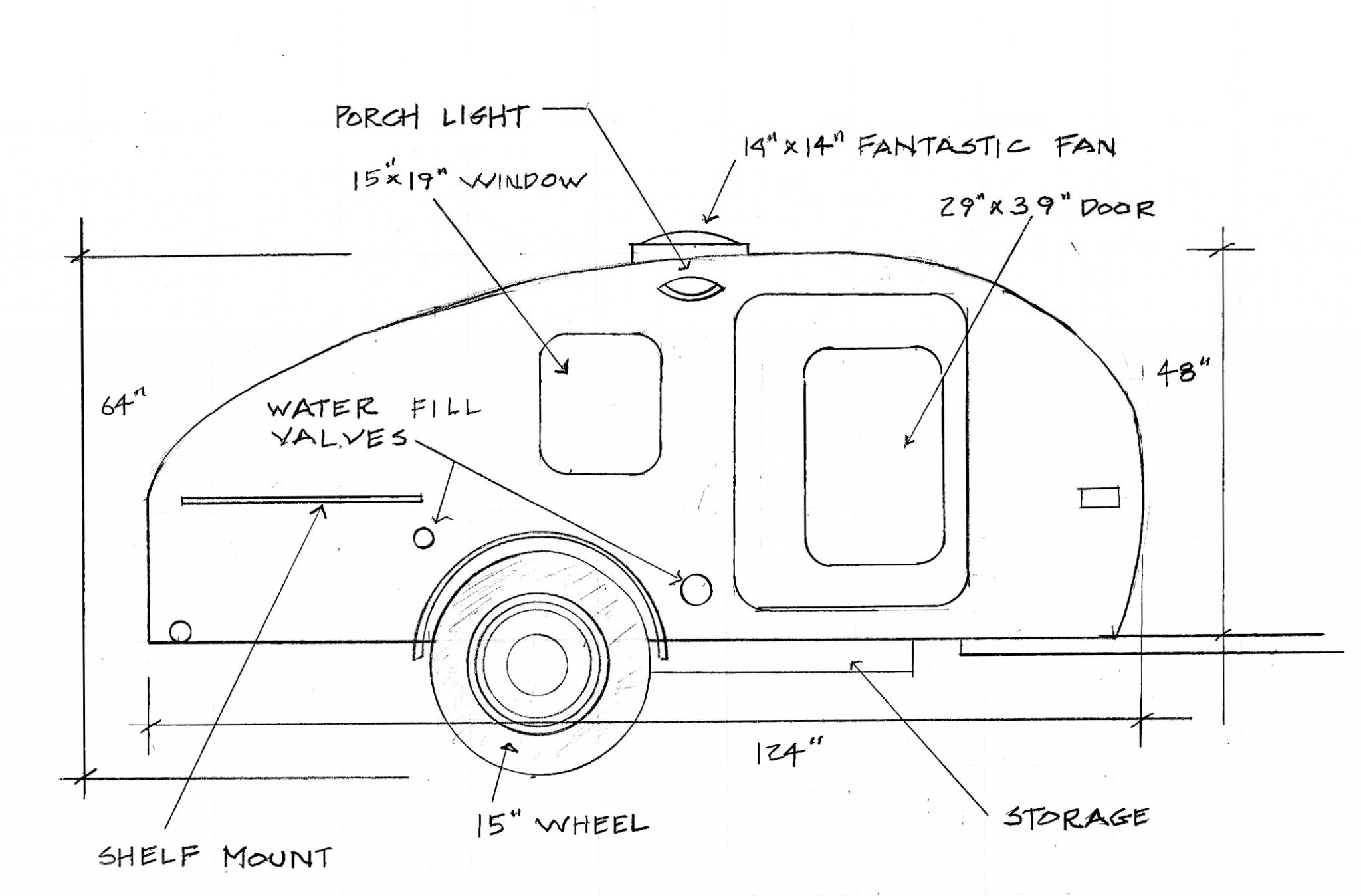 12 volt wiring diagram for camper trailer
