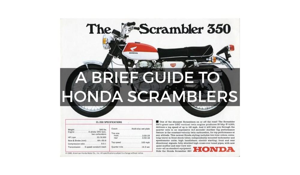 medium resolution of a brief 1600x939 a brief guide to honda scramblers