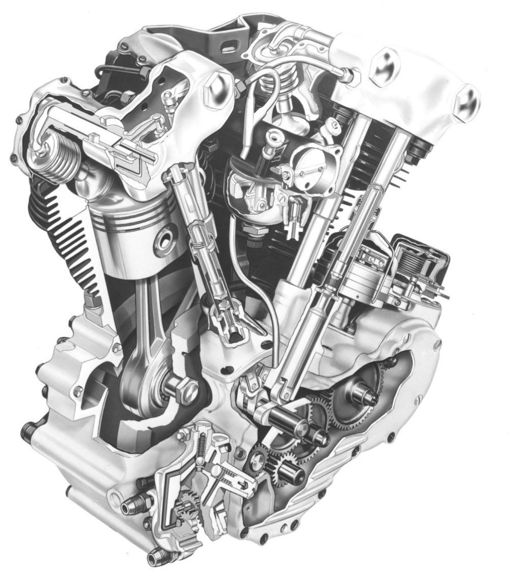 medium resolution of harley davidson knucklehead engine diagram