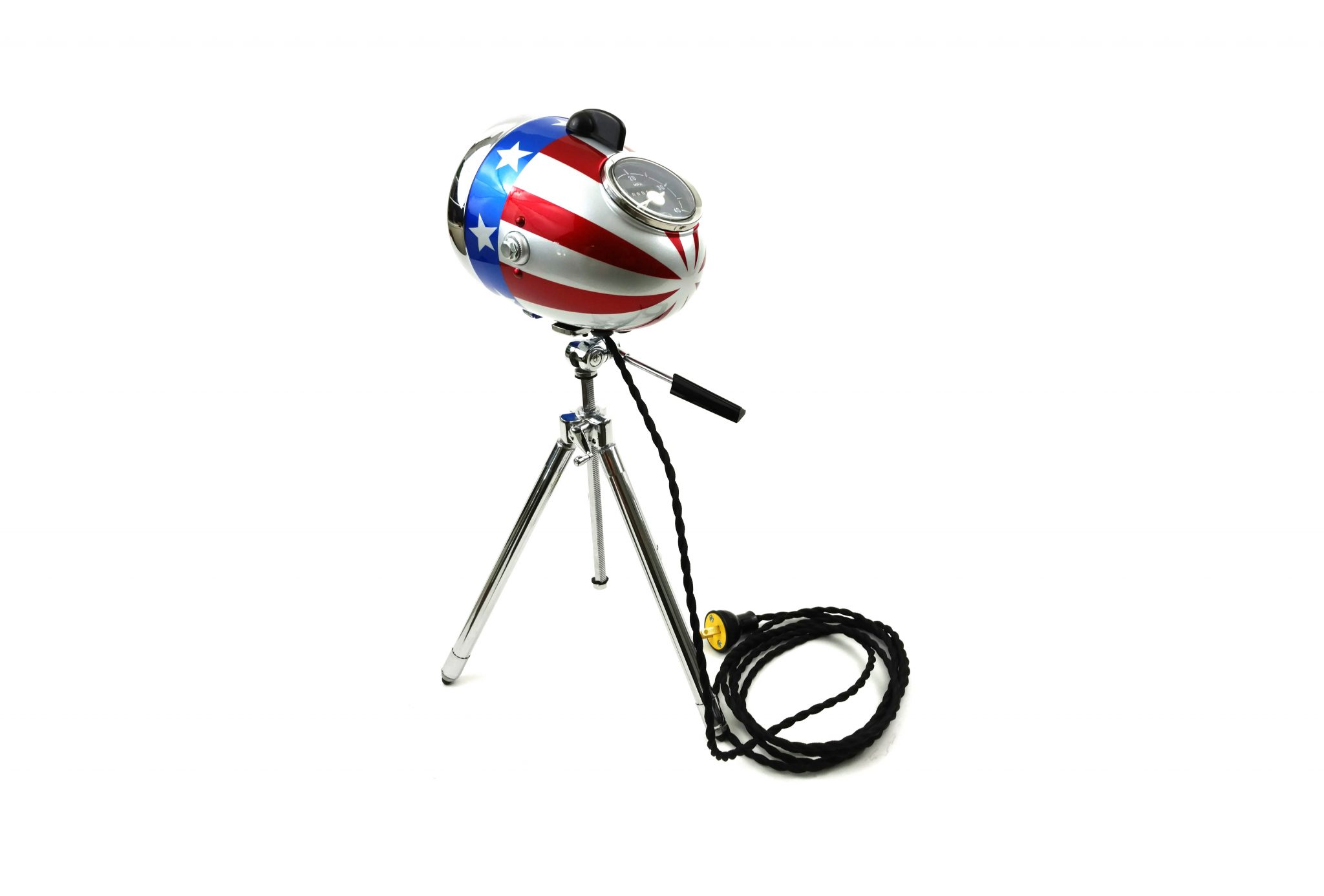 Captain America Lamp by The Modern Weld