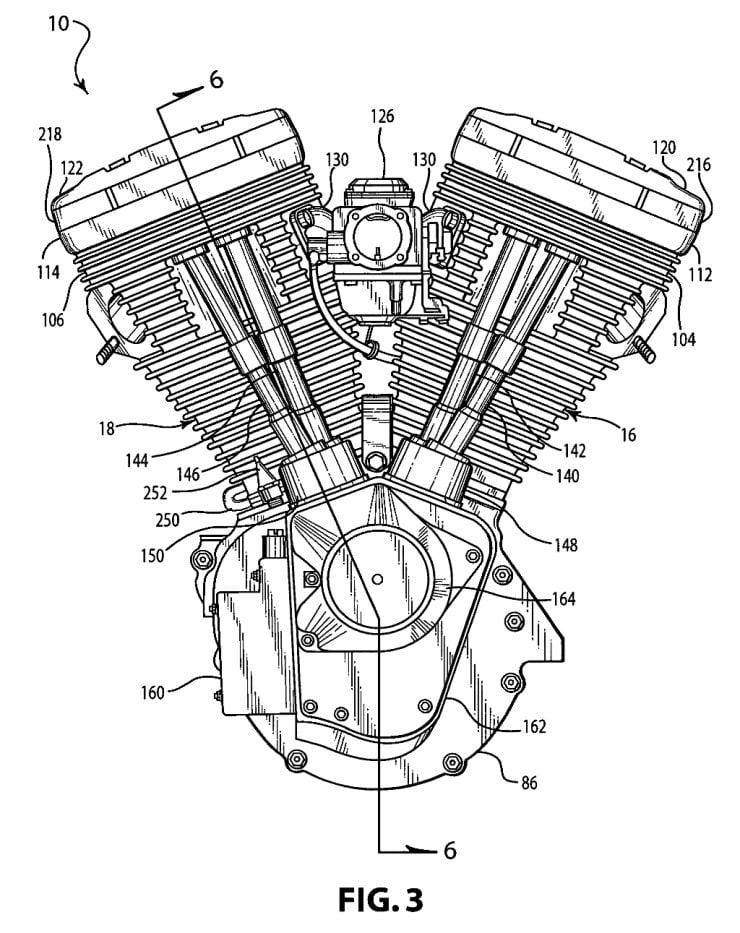 harley davidson twin cam engine diagram