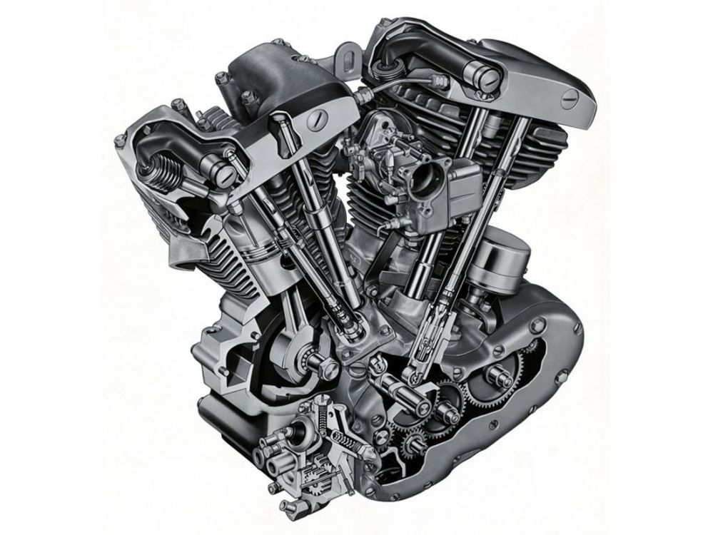 medium resolution of harley davidson shovelhead engine diagram