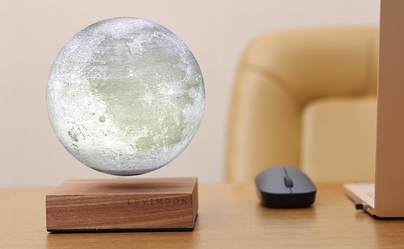 LeviMoon  The Worlds First Levitating Moon Lamp
