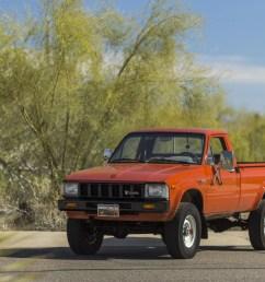 original survivor 1983 toyota hilux pickup truck [ 1600 x 1067 Pixel ]