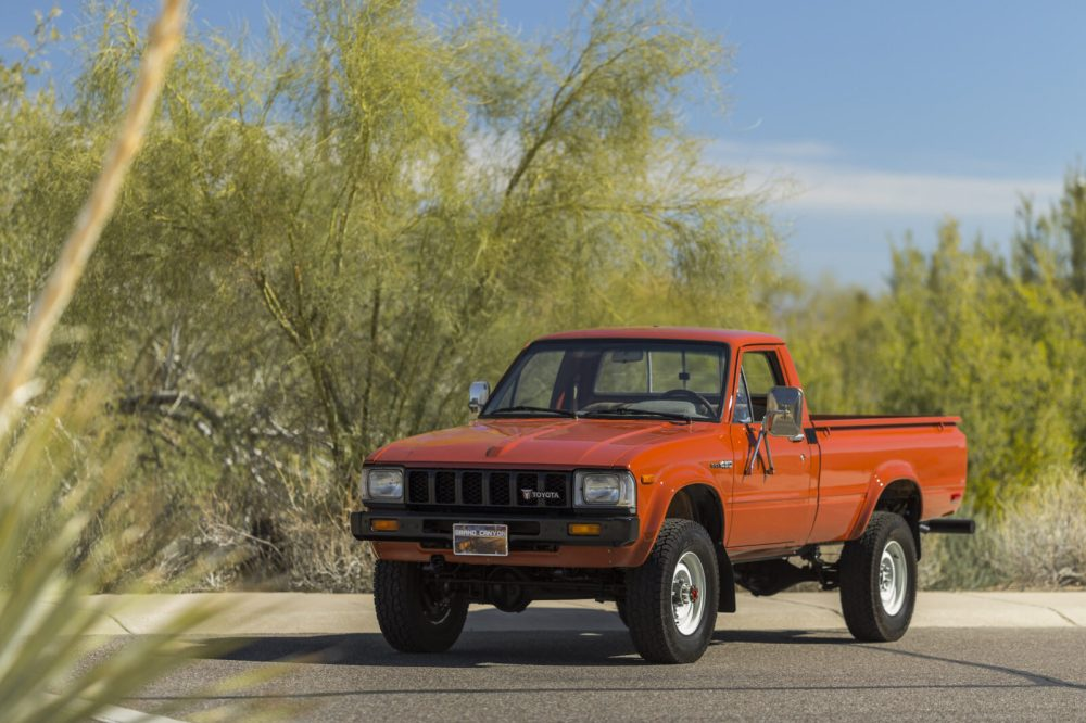 medium resolution of original survivor 1983 toyota hilux pickup truck