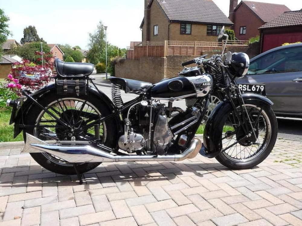 medium resolution of ariel sf31 sloper motorcycle
