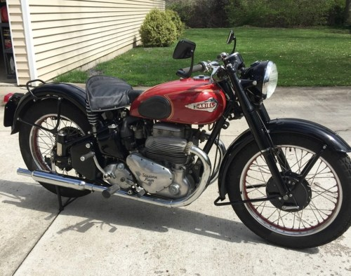 small resolution of ariel mark ii square 4 motorcycle