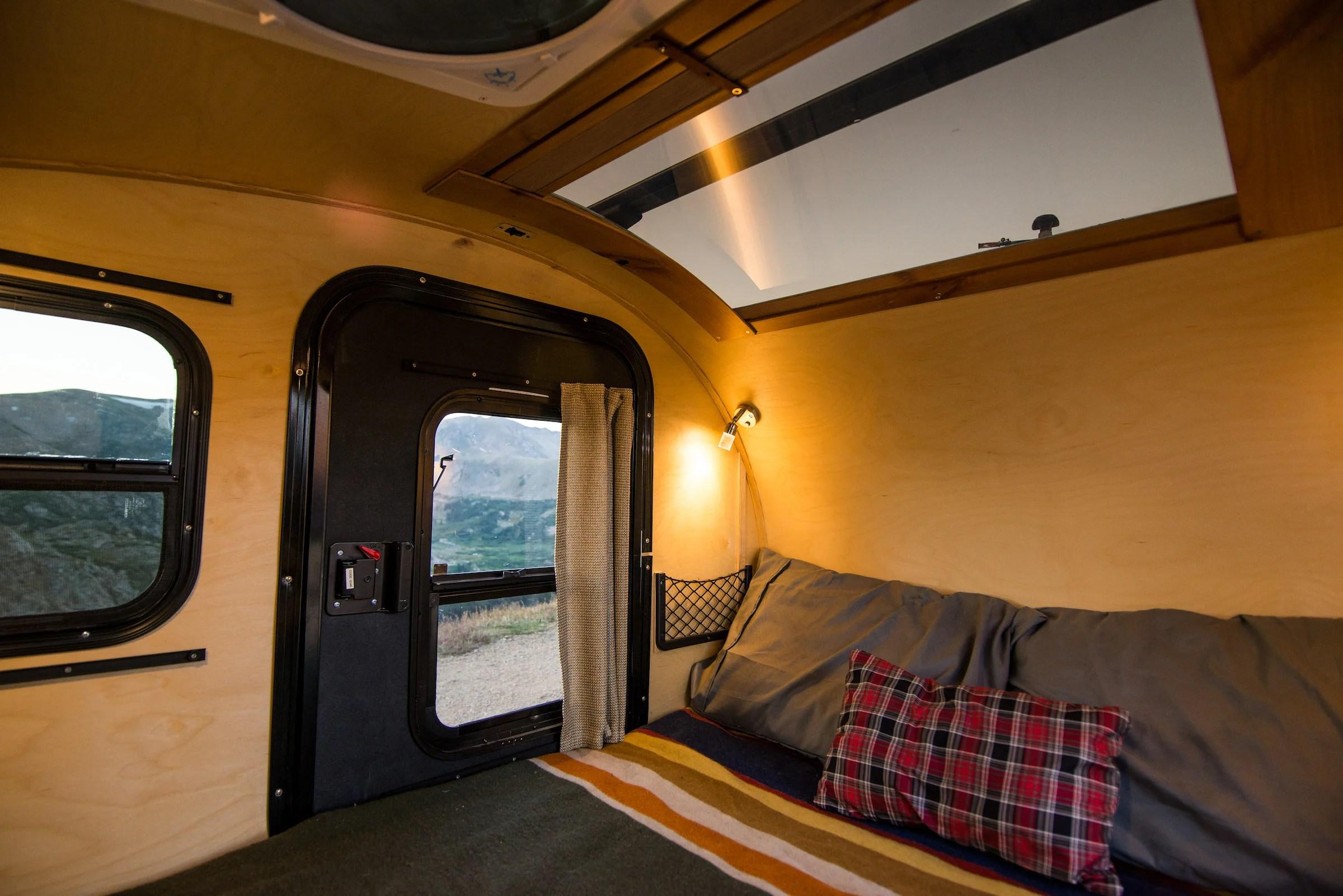 kitchen cabinets ebay cabinet drawers timberleaf pika teardrop camper trailer - $11,750 usd