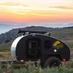 Ebay Kitchen Cabinets How To Build An Outdoor Timberleaf Pika Teardrop Camper Trailer - $11,750 Usd