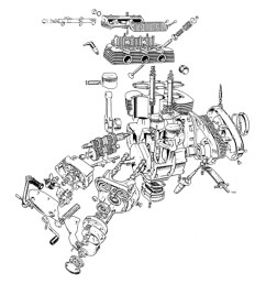 triumph trident bsa rocket 3 engine cutaway [ 1760 x 1207 Pixel ]