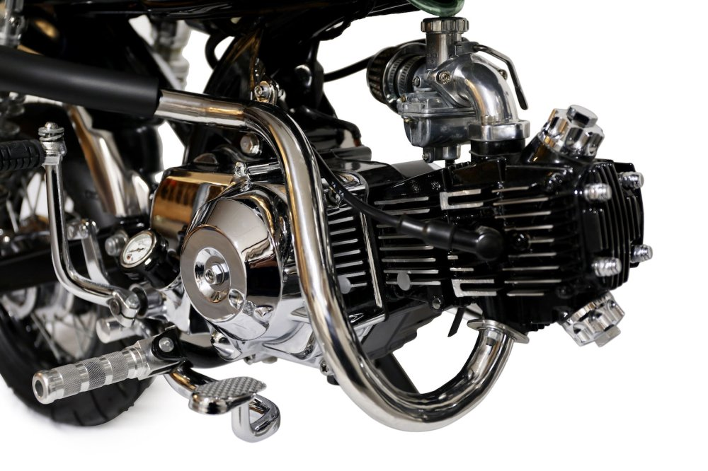 medium resolution of honda monkey bike cafe racer engine