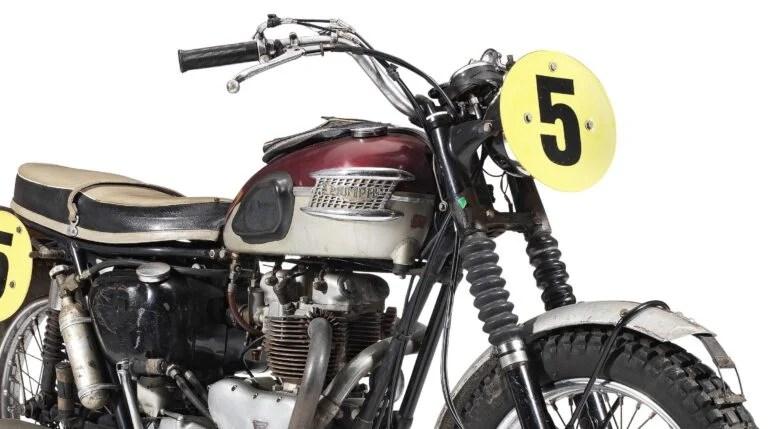 Steve Motorcycle Mcqueen Triumph