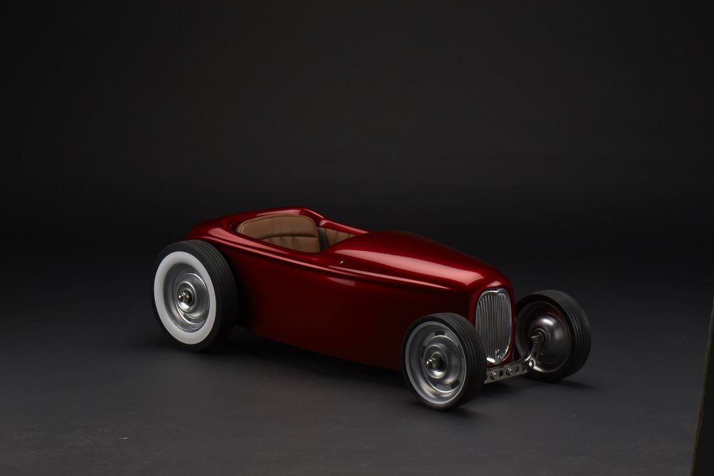 medium resolution of the chassis features a hot rod theme and has bent tube and creates a seamless mount system for the body
