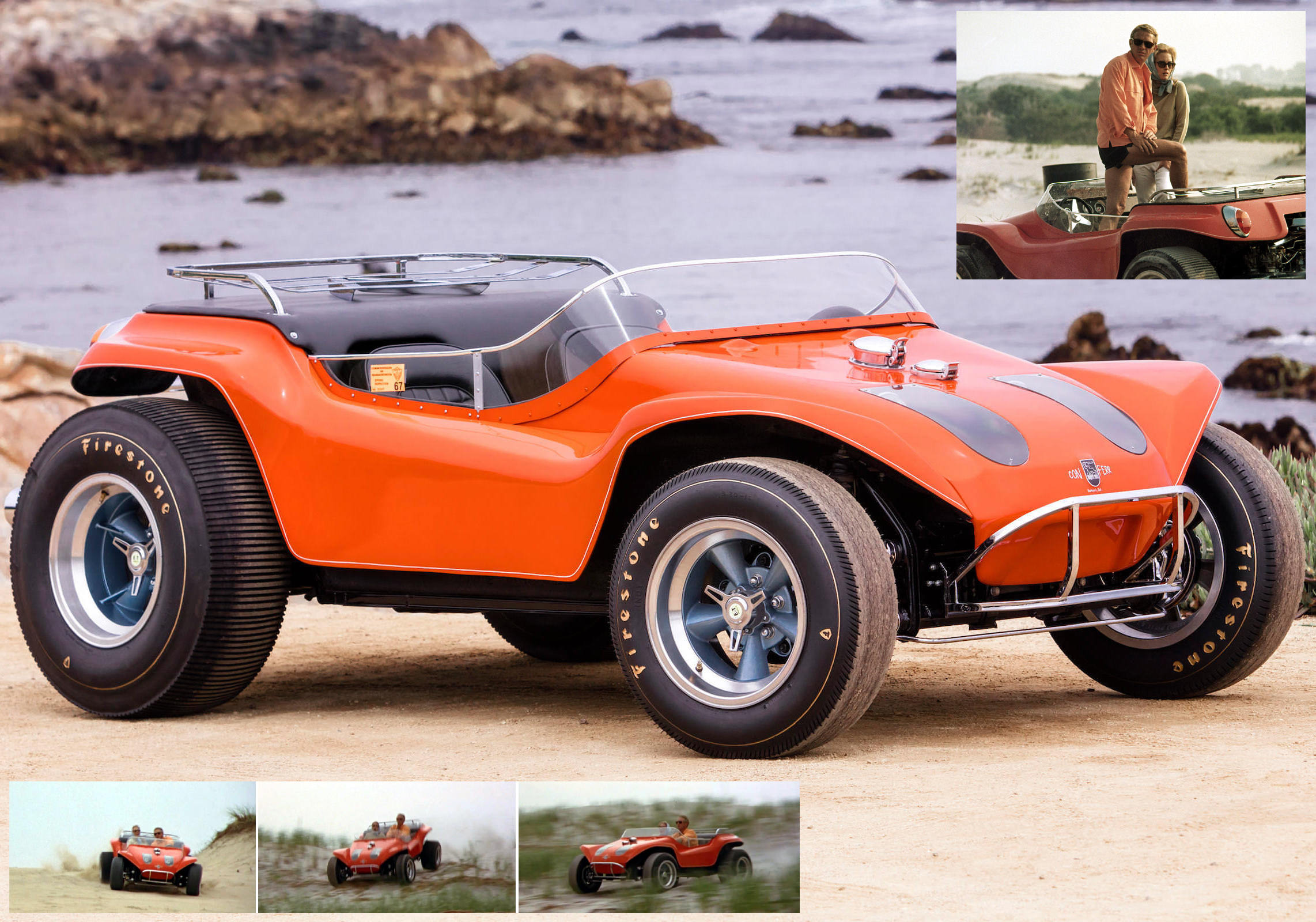 For Sale The Dune Buggy Driven By Steve Mcqueen In The