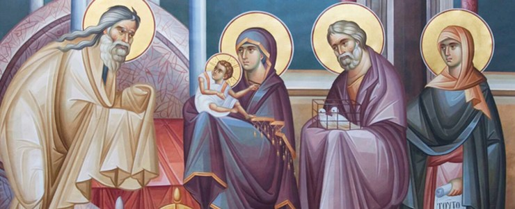 Icon of the Meeting of the Lord