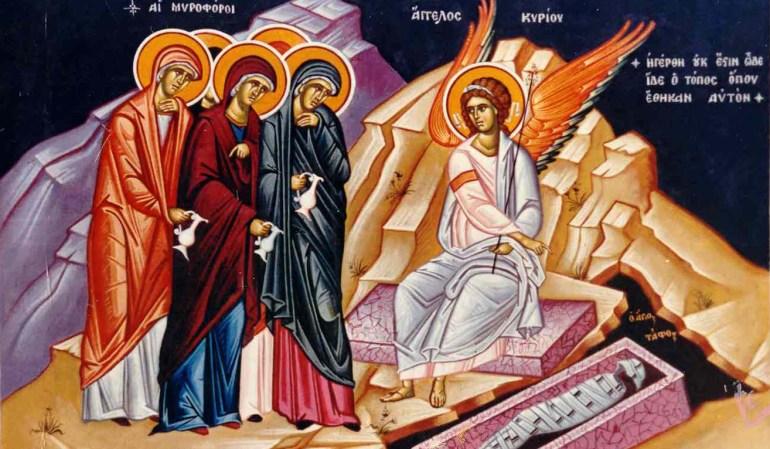 The Myrrh-bearing women