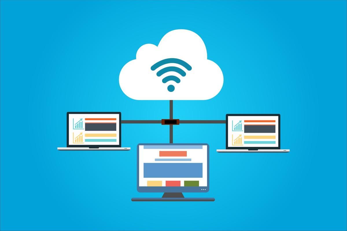 Cloud Hosting Graphic