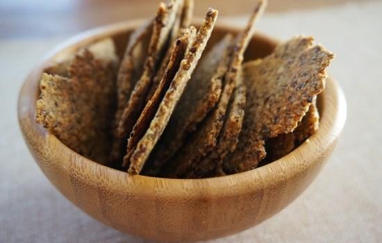 Crackers met zaden en pitten