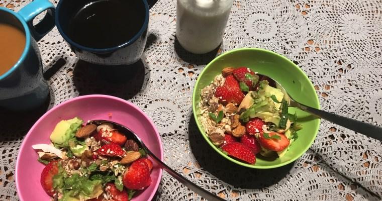 Breakfast bowl: een kom vol met lekkers en vitaminen