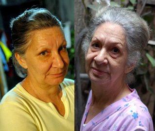 Mi madre (Emila) y mi abuela (Gladys), el 29 de Noviembre de 2006, La Habana, Cuba. Foto: Calixto N. Llanes/Juventud Rebelde (CUBA)