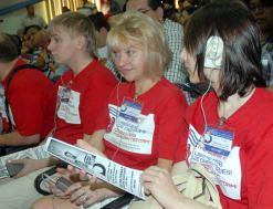 Los jóvenes rusos participan en el III Encuentro Juvenil de Solidaridad con los Cinco, el 12 de Junio de 2011, La Habana, Cuba. Foto: Calixto N. Llanes/Juventud Rebelde (CUBA)