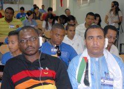 Jóvenes de distintos países del mundo participan en el taller de experiencias regionales, el 13 de Junio de 2011, La Habana, Cuba. Foto: Calixto N. Llanes/Juventud Rebelde (CUBA)