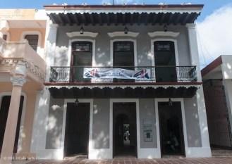 Fachada del Museo Casa Natal de Carlos Manuel de Cespedes, el Padre de la Patria cubana. Domingo 20 de octubre de 2013, Granma. FOTO: Calixto N. Llanes (CUBA)