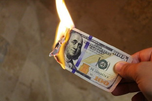 Bad decisions are like burning money