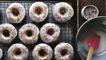 Gluten Free Dairy Free Spiced Powdered Doughnuts