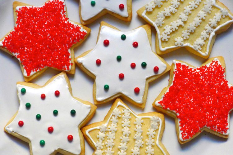 Gluten Free Dairy Free Buttery Cut Out Cookies With Royal Icing