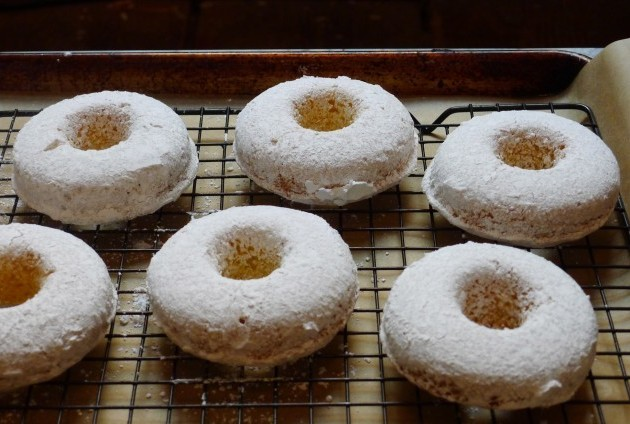 Gluten-Free Powdered Cake Doughnuts