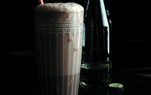 Jennifer Perillo's Dairy-Free Chocolate Egg Cream