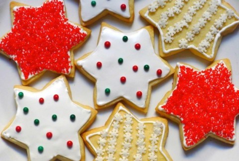 Gluten-Free, Dairy-Free Buttery Cut-Out Cookies with Royal Icing