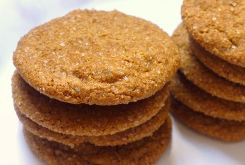 Gluten-Free, Dairy-Free Ginger Molasses Cookies